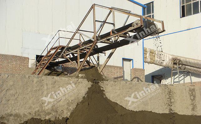 金尾矿生产建筑材料