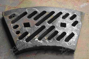 球磨机锰gang衬板